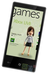 windows phone 7 xbox